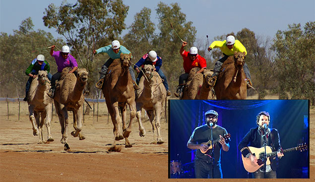 Here Comes Busby Marou and the Iconic Boulia Camel Races