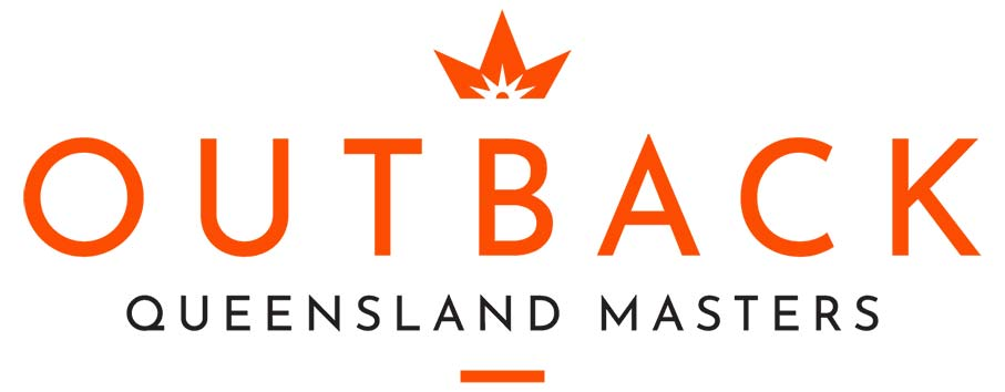 Outback Queensland Masters logo