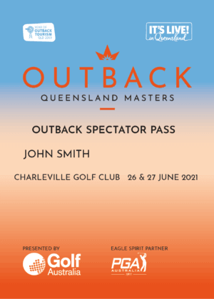 Outback Spectator Pass
