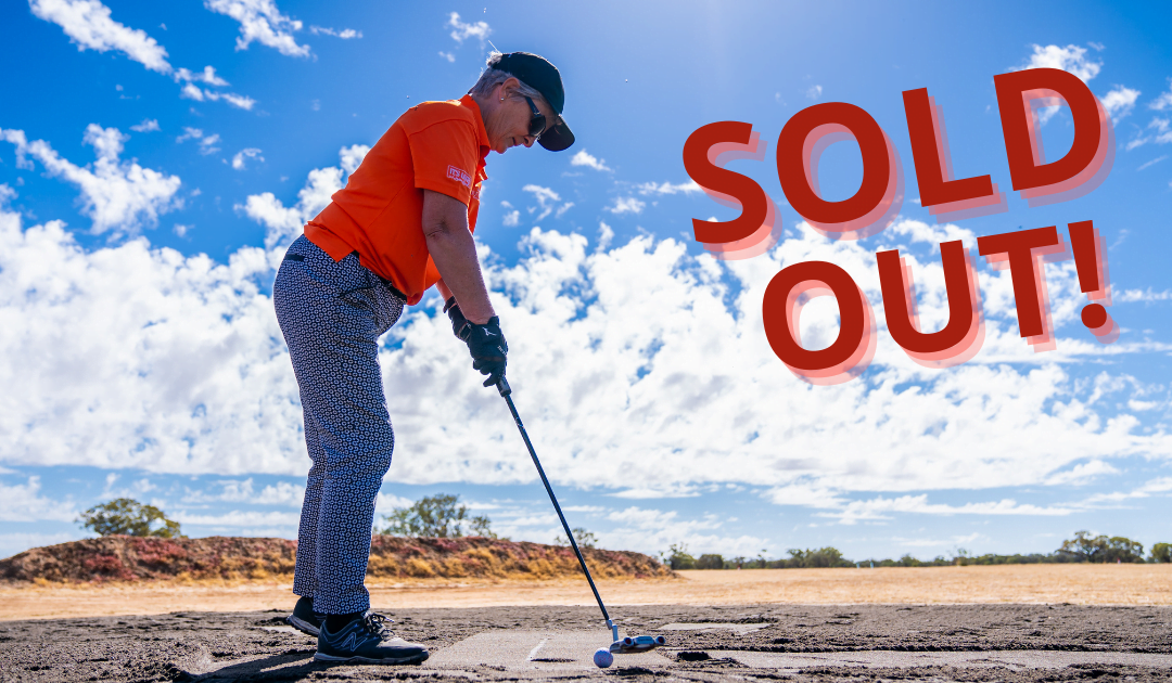 Sold out ahead of 2021 tee-off!